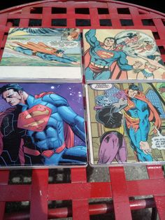 Check out this item in my Etsy shop https://www.etsy.com/listing/398060829/handmade-superman-stone-tile-comic-book