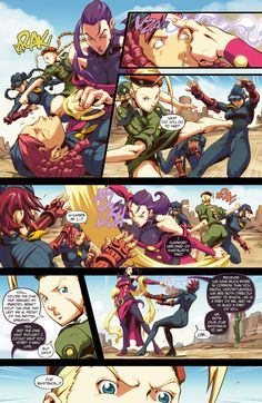 Street Fighter II Issue #5 - Read Street Fighter II Issue #5 comic online in high quality