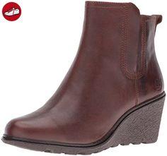 Timberland Amston Chelsea Damen Rund Leder Mode-Stiefeletten  Amazon.de   Schuhe   Handtaschen 87181c7adc