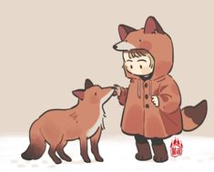 Kawaii Drawings, Cute Drawings, Animal Drawings, Cartoon Kunst, Cartoon Art, Boy Illustration, Illustrations, Cute Art Styles, Dibujos Cute