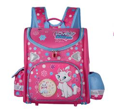 97fe71ac3f Kids   Baby s Bags · 2017 Marie Cat Cartoon School Backpack Mochila  Infantil School Bag Orthopedic Girls Princess Children School Bags