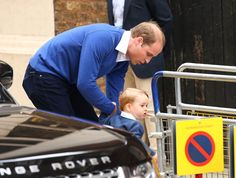 Pin for Later: Princess Charlotte Is 1 Month Old — Relive Her Exciting Debut! When William Tried to Let George Walk
