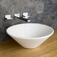 Fano sink in ceramic