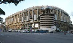 The Bernabeu, Madrid, Spain | View of Santiago Bernabéu Stadium in Madrid (Spain) from the south ...