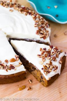 I love this homemade carrot cake recipe. The cake is super-moist and full of flavor. The easy cream cheese frosting is tangy and creamy. Perfect!