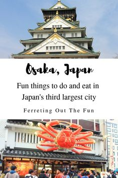 Wondering what to do and eat in Osaka, Japan? This travel and food guide has you covered! Find out about Osaka Castle, takoyaki, melonpan, and much more! Japan Travel Guide, Asia Travel, Travel Plane, Travel Advice, Travel Guides, Travel Info, Visit Japan, Bhutan, Mongolia