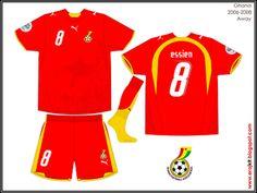 Ghana - Away Jersey (2006)