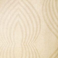Diseño retro en este papel pintado de la colección Elegance de Grandeco.