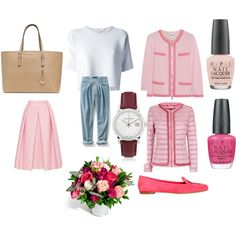 """""""Take time to smell the flowers...a spring 2014 set"""" by shycoygirl65 on Polyvore"""