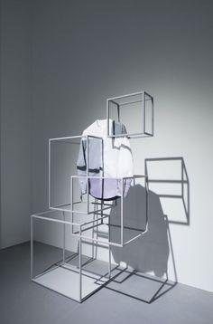 Cos x Nendo installation at Milan Design Week 2014 + Oki Sato interview