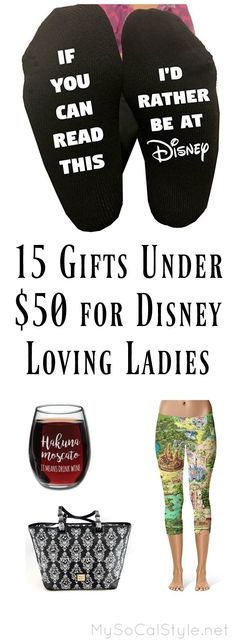 Not sure what to get the Disney loving lady in your life this holiday season? Check out this awesome gift guide! #Disney #Gift #Present #Guide #Christmas #Girlfriend #Her #wife