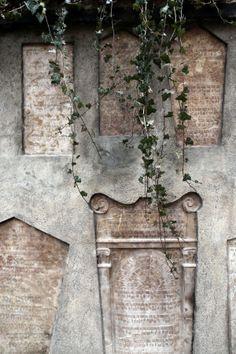 Old Jewish stones graveyard Old jewish cemetary Prague