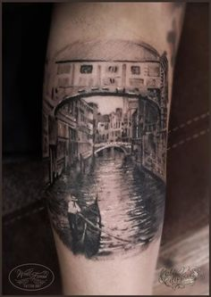 Nice view of the canal by Fabio Filippone.