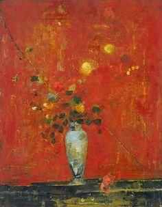 Goxwa Borg Tutt Art@ () Words On Canvas, Autumn Rose, Still Life Art, Shiba, Color Theory, Figurative Art, Painting & Drawing, Flower Art, Cool Art