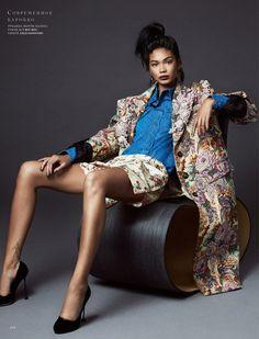 Шанель Иман в Harper's Bazaar (Интернет-журнал ETODAY)