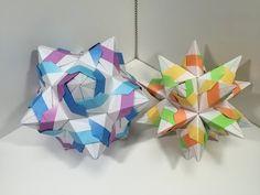 【Modular Origami】さんだすけE30枚組【ユニット折り紙】14 - YouTube