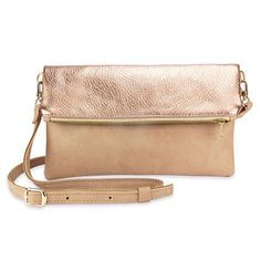 Foldover-Tasche FINJA mit Umhängeriemen - lille mus Clutch, Kate Spade, Bags, Organic, Accessories, Fashion, Foldover Bag, Greenhouse Gases, Artificial Leather