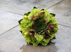 Very unique wedding bouquet