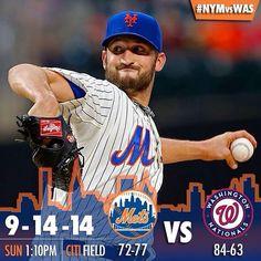 New York Mets Gameday Graphic 2014