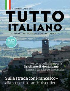 Italian language magazine for English intermediate learners of Italian
