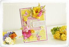 Urodzinowy komplet pełen kolorów / A birthday set full of colours Cardmaking, Decorative Boxes, Colours, Scrapbooking, Birthday, Fresh, Home Decor, Summer, Making Cards