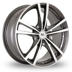 """View large image of 17"""" BK Racing 182 Alloy Wheels"""