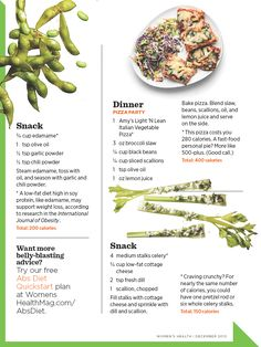 Women's Health December 2013: Your Flat-Belly Day