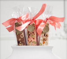 Nougat or Biscotti favors