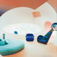 Pierre Cardin's bubble house on the Cote d'Azur, photographed by Mai-Linh for Habitat Magazine. {no•2}
