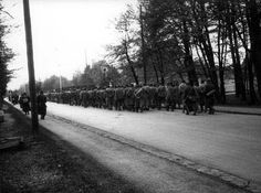Dachau, Germany, Camp Inmates on a Death March-1 Photographs Film and Photo Archive, Yad Vashem All rights reserve