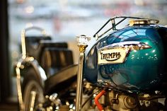 Triumph Bobber... True functioning art work that you can ride.. How cool is that..