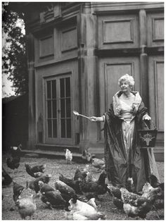Deborah Mitford, The Duchess of Devonshire and Her Chickens