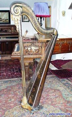 Cousineau Pere et Fils antique Harp - Circa 1782 » Palace Pianos