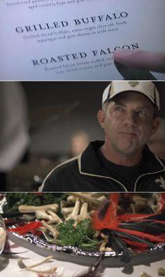 Sean Payton enjoys Roasted Falcon!
