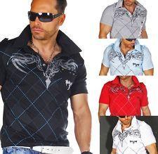 Trendy Herren Polo Poloshirt T Shirt Shirt Polohemd Hemd Clubwear TOP Style CT45 | eBay