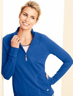 Talbots - Weekend Terry Pullover | |
