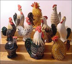 Stuart Bass Rooster Pie Bird Funnel Vent White Banty Bantam English Chicken Farm   eBay