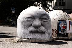 MENTALGASSI http://www.widewalls.ch/artist/mentalgassi/ #stencil #streetart #urbanart #urbaninterventions