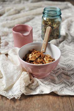 Coconut Molasses Granola. #food #breakfast #granola