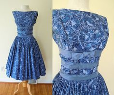 1950s full skirt party dress by Maggi Stover.