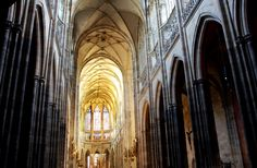 St. Vitus Cathedral within the Prague Castle complex.