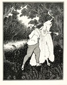 Aubrey Beardsley (1872-1898). 'The Three Musicians' from 'The Savoy: An illustrated Quartely', 1896