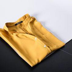 •loving this oversized yellow shirt• Yellow Shirts, Gloves, Leather, Life, Fashion, Moda, Fasion, Mittens, Trendy Fashion