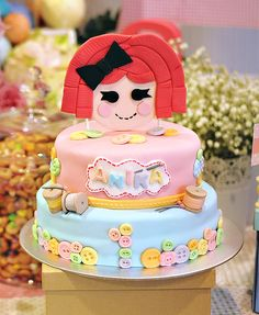 Lalaloopsy Inspired Cute as A Button 1st Birthday