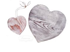 Wooden hearts Wooden Hearts