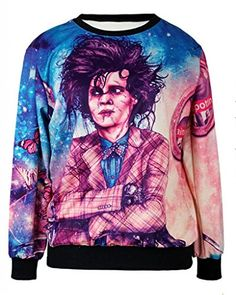 Sunnydate 2014 New Unisex Hand-painted couple sweater Pop Star Johnny Depp SUNNYDATE http://www.amazon.com/dp/B00N1TM1ZY/ref=cm_sw_r_pi_dp_g8.vvb14ST96H