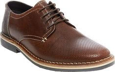 Go from board meetings to happy hours wearing the classy Heywire Perforated Oxford by Steve Madden. With cool contrast stitching, this round toe shoe exudes style. Contrast stitching Manmade insole and outsole. Lace Up Shoes, Dress Shoes, Martin Shoes, Shoe Deals, Kid Shoes, Leather And Lace, Steve Madden, Oxford Shoes, Footwear