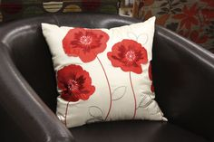 Red Flower Pillow (available only in stores) Click image to see weekly ad