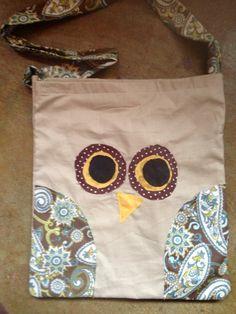 Shabby owl purse on Etsy, $16.00