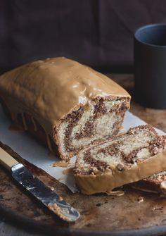 Mocha Swirl Bread with Espresso Glaze - Click For Recipe